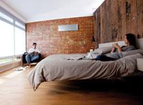 Heizen in Schlafzimmer von Nitsch