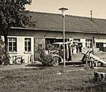 Historie altes Gebäude von Nitsch