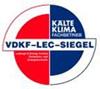 Zertifizierung Logo Verband Deutscher Kälte-Klima-Fachbetriebe e.V. VDKF von Nitsch